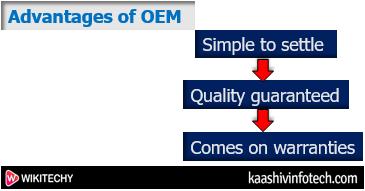Advantages of OEM parts