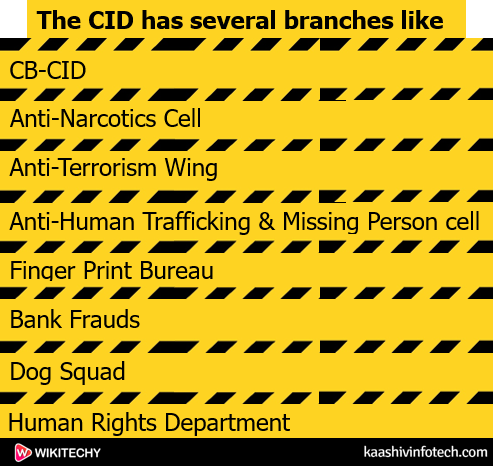 CID Branches
