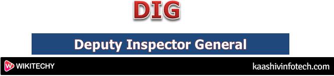 Deputy Inspector General