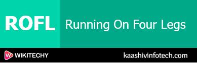 Running On Four Legs
