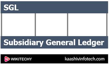 Subsidiary General Ledger