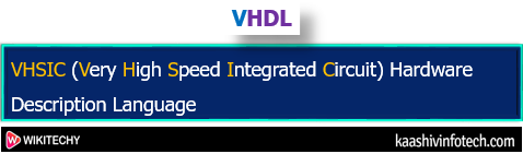 Very High Speed Integrated Circuit