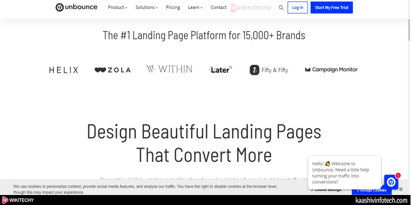 Unbounce Page