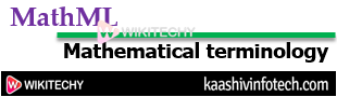 What is Mathml