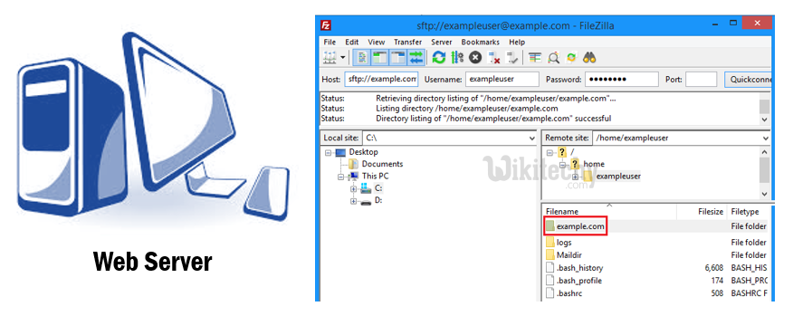 Files load into FTP Server