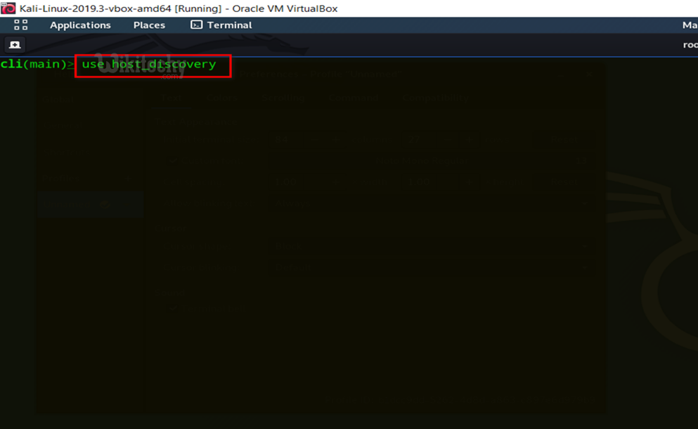 use host discovery